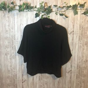 Alice + Olivia by Stacey Bendet Black Slouchy Top